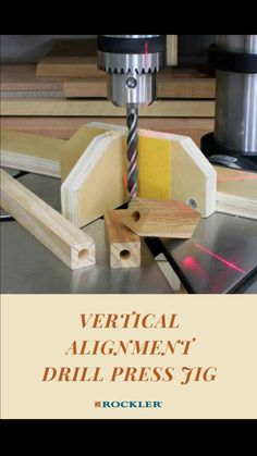 Diy Wooden Projects, Wood Projects That Sell, Diy Furniture Plans Wood Projects, Woodworking Tutorials, Small Woodworking Projects, Woodworking Jigs, Woodworking Furniture Plans, Carpentry, Drill Press