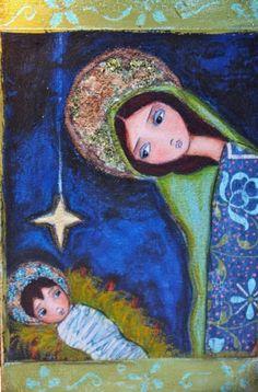 nativity paintings modern - Google Search