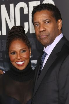 Pauletta and Denzel Washington - Black Love Is Beautiful! 19 Famous Couples Who Make Forever Look Easy Black Celebrities, Famous Celebrities, Celebs, Celebrities Homes, Famous Celebrity Couples, Famous Couples, Hollywood Couples, Celebrity News, Black Couples