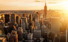 2014 New York USA Manhattan City Morning