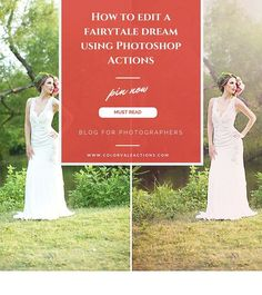 How to take your images and turn them into something that looks like it belongs in the pages of a fairytale story using Photoshop Actions by Colorvale. Photoshop Actions For Photographers, How To Use Photoshop, Photoshop Tips, Photoshop Photography, Photography Tips, Portrait Photography, Lightroom, Blur Image Background, Photography Business