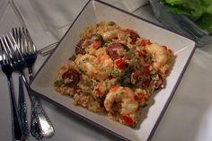 Arroz con chorizo y camarones | LA Times Food