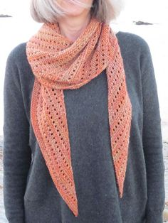 Be Simple Variations offers two easy variations on the Be Simple Shawl (also a free Ravelry download). It is an asymmetrical, triangular shawl that is simple to knit and simple to wear. Knit in simple garter stitch with yarn-overs every eight rows, the finished shawl is an airier version of Be Simple. Either a plain or picot bind-off completes the project.