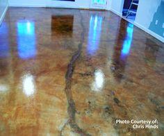 SoyCrete Concrete Stain Photo Gallery
