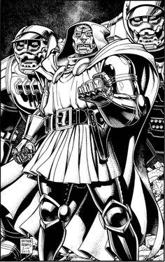 Doctor Doom by Arthur Adams