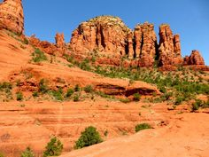 Chicken Point can be reached via Little Horse or Broken Arrow Trails. #Sedona #Arizona #hike