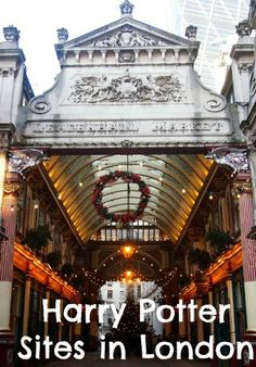 Harry Potter Sites in London on a Brit Movie Tour. We try out a bus tour of London to visit famous locations featured in the Harry Potter movies. Click through to read more.