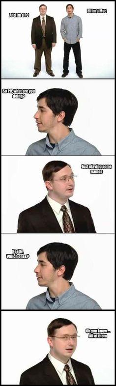 MAC and PC #gaming