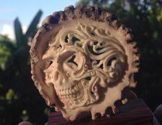Deerhorm skull