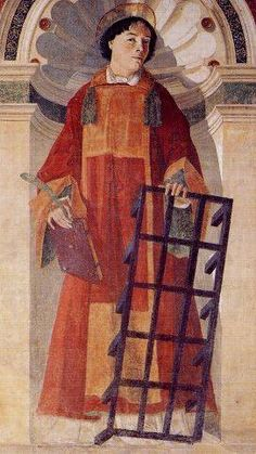Pietro d'Antonio Dei, detto Bartolomeo Della Gatta (1448 - 1502), San Lorenzo, 1476, Arezzo, Badia delle Sante Flora e Lucilla