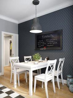 Scandinavian living place on Behance Scandinavian Interior Design, Scandinavian Living, Room Interior Design, Living Room Interior, Kitchen Interior, Living Room Decor, Scandinavian Apartment, Living Place, New Kitchen Designs