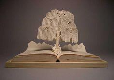 Altered book art - Karen Timm