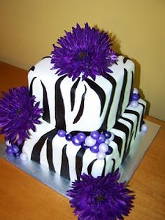 Love the purple with the zebra