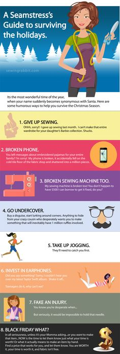 A Seamstress Holiday Survival Guide
