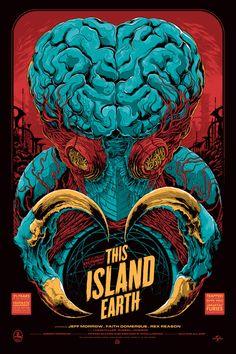 """Ken Taylor """"THIS ISLAND EARTH"""" MONDO"""