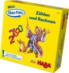 HABA 4893 Mini-Ratz Fatz Zählen und Rechnen