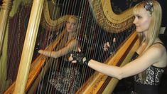 PHANTOM of the Opera: All I Ask of You - Harp Twins - Camille and Kennerly