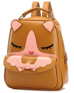 """Debs PINK School Backpack Bookbag Back Pack Bag For 18/"""" American Girl Dolls"""