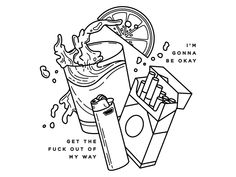 make temp tattoos Alcohol. by Avery Muether Art Drawings Sketches, Tattoo Sketches, Tattoo Drawings, Sketch Tattoo Design, Tattoo Designs, Rick E, Temp Tattoo, Tattoo Flash Art, Desenho Tattoo