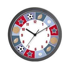 All Stars Sports Wall Clock