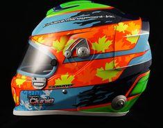 Jayson Clunie's 2015 SPARCO WTX-9 — Smart Race Paint -Helmet Painting at it's best-