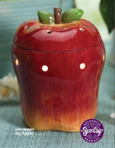 The Big Apple Scentsy Warmer is the Warmer of the Month for April 2013!  10% OFF the entire month!
