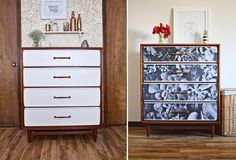 I love the way this simple DIY furniture makeover transforms an old dresser into a statement piece.
