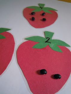 Strawberry Seeds Counting Activity
