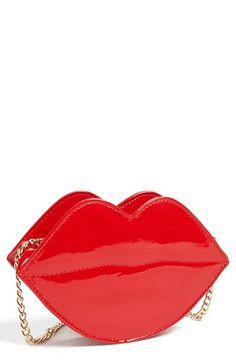 Super Trader 'Lips' Clutch (Juniors) available at #Nordstrom. Perfect kid valentines