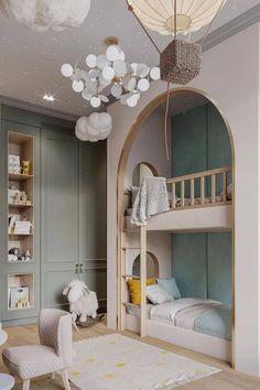 Kids Bedroom Designs, Boys Bedroom Decor, Childrens Room Decor, Kids Room Design, Bed Design, Cool Kids Rooms, Interiores Design, Girl Room, Awesome Bedrooms