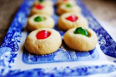 christmas cherry cookies
