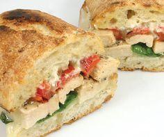 Killer sandwich recipes.