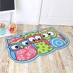 Kids Rug Cartoon Owl Carpet Children Area For Bedro Https