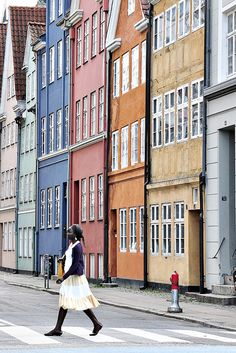 colourful copenhagen - Loved by Yang Yang Yang Denmark House Oh The Places You'll Go, Places To Travel, Places To Visit, Travel Around The World, Around The Worlds, Destination Voyage, Historical Sites, Wonders Of The World, Holland