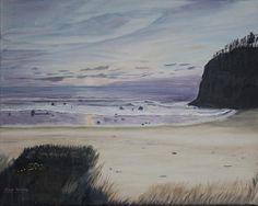 Title:  Oregon Coast  Artist:  Ian Donley  Medium:  Painting - Oil On Canvas