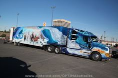 The outrageous Dragonmaster semi truck at #SEMA 2012. The trailer sold at Barrett-Jackson Scottsdale in 2013 for $38,500