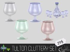 BuffSumm's Tulton Cluttery Cognac Glas