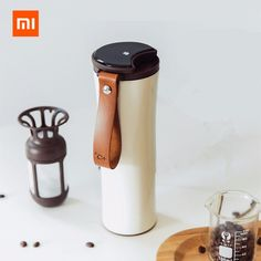 Original Xiaomi Mijia Kiss Kiss Fish Stainless Steel Thermal Vacuum Water Bottle Sensitive Temperature Sensor with Coffee Brewer Coffee Brewer, Coffee Cups, Coffee Maker, Vacuum Cup, Refreshing Drinks, Getting Old, Save Energy, Consumer Electronics, Water Bottle