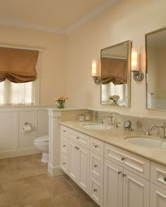 Addition and Remodel traditional bathroom. like everything about this one