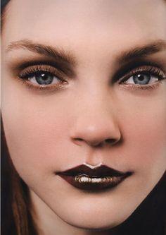 Vampy fall lips inspiration