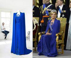 De fantastische jurk van Maxima bij de kroning van Jan Taminiau