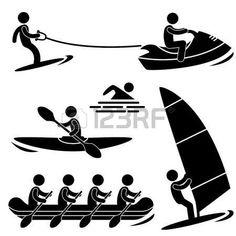 水海スポーツ Skurfing ウィンド サーフィン ラフティング ボート photo