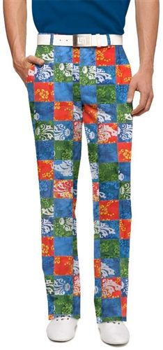 58403ea3716 Mens Kapalua Made To Order Pants by Loudmouth Golf. Buy it   ReadyGolf.com