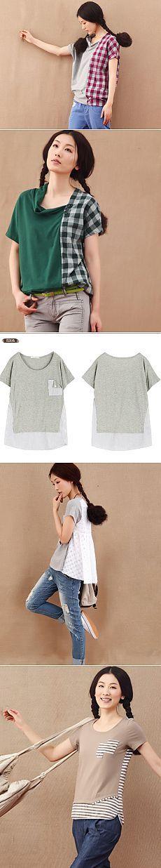 Декор и переделка футболок (подборка)