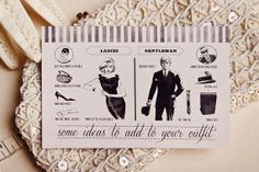 All that jazz retro invitations Stationery and Design