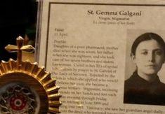 Štvrtková pobožnosť zverenia sa príhovoru sv. Gemme Galgani pre jej ctiteľov Marvel