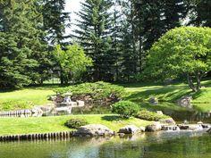 Nikka Yuko Japanese Gardens; Lethbridge, AB
