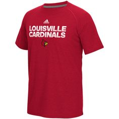 brand new b11e9 374da Adidas Men s University of Louisiana at Lafayette Sideline Hustle Ultimate T -shirt (Red, Size XX Large) - NCAA Licensed Product, NCAA Men s Tops at.