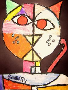 homage au Paul Klee | Sammy, first grade-UK Eduacation Class word Site @ http://www.smartyoungthings.co.uk