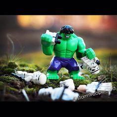 Where is Darth?!   #Lego #StarWars #stormtrooper #Hulk #DarthVader #legogram #legos #legostagram #toyslagram #legomania #bricknetwork #instalego #afol #legosuperheroes #legoUA #UkrLego #LegoUkraine #legophoto #legophotographer #legolife #legomarvel #レゴ #레고#legostarwars #legominifigures #legominifigs #Berdyansk #Лего #ЛегоУкраина  #ЗвездныеВойны by stormtrooper_brd